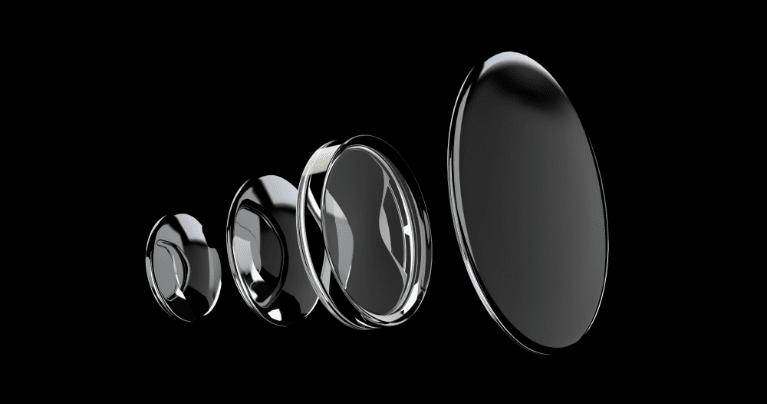 真空薄膜形成などの光学薄膜の例